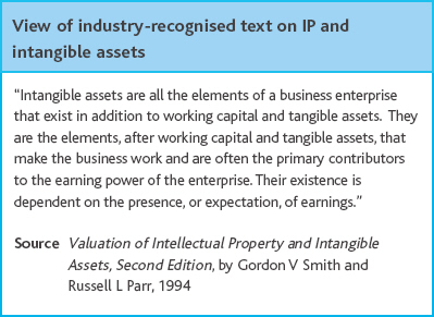 how to record intangible assets on the balance sheet